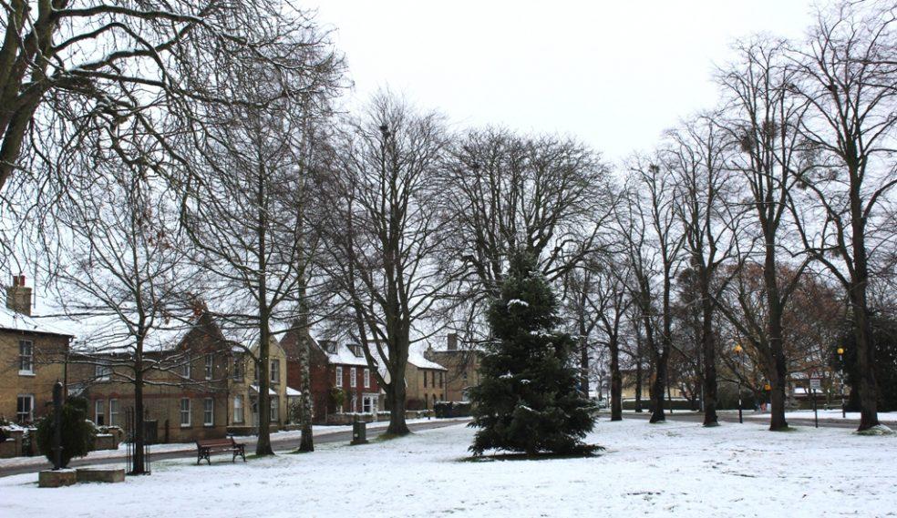 Cottenham village green December 2017